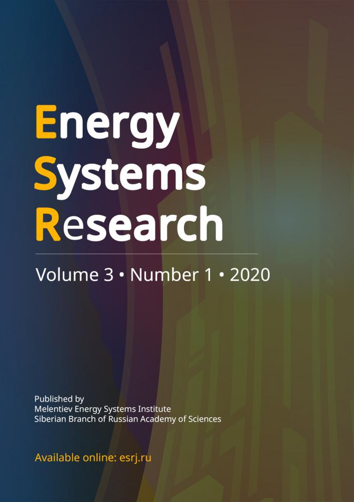 Issue 1, 2020 of Energy Systems Research journal is available online