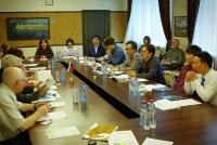 Meeting with National Institute of Environmental Research of Republic of Korea